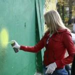 """Елена Посевина открывает граффити фестиваль """"Лицо улиц"""""""
