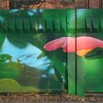 "Граффити фестиваль ""Лицо улиц"" Н.Новгород 2009"