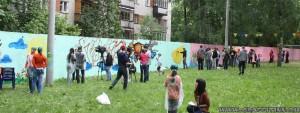 """граффити фестиваль """"Краски детства"""" в Нижнем Новгороде"""