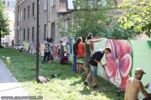 граффити контест в Нижнем Новгороде